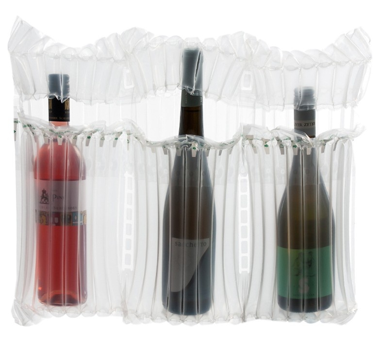 3 bottle wine air bag