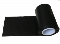 6inch Width Black Conductive Fabric Film With Surface Resistivity of 4k~10k ohms