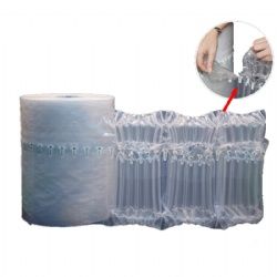 Q type air column bag roll