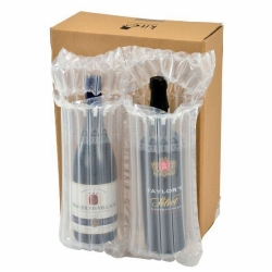 2 bottle wine air bag